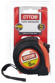 Купить <b>Рулетка</b> OTTOM 90002 25 мм <b>x</b> 5 м по низкой цене с ...
