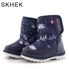 <b>SKHEK</b> Winter <b>Children</b> Round Toe Snow <b>Boots</b> For Girls <b>Boys</b> Flat ...