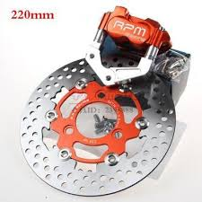 RPM CNC Electric <b>Motorcycle Scooter</b> Brake Calipers 200mm ...