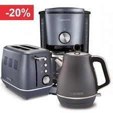 Набор <b>чайник</b>, тостер и кофеварка Morphy Richards voke <b>Steel</b> ...