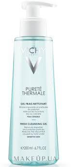 <b>Освежающий</b> очищающий <b>гель для лица</b> - Vichy Purete Thermale ...