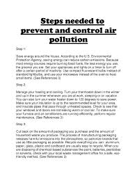 scince folio air pollution        steps needed to prevent and control air pollution