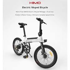 Original Xiaomi <b>HIMO C20 10AH Electric</b> Moped Bicycle 25KM Per ...
