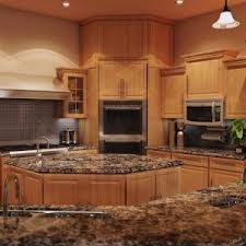 marvellous different types of countertops with kitchen cabinet and tile backsplash awesome types cabinet