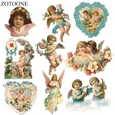 <b>ZOTOONE Iron</b> On Heart Patches For Clothes Embroidery Applique ...