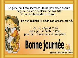 Humour pour enfants - Page 4 Images?q=tbn:ANd9GcTO7sMbWdjL5HOayMHEf33yj2DpmeWx0Vz7O4eom0eGMgYIv63mJg