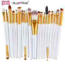20pcs Eye <b>Makeup</b> Brushes Set <b>Eyeshadow</b> Blending Brush ...