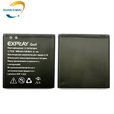 QiAN SiMAi <b>1PCS</b> Golf 1600mAh <b>100</b>% Original <b>High quality</b> battery ...