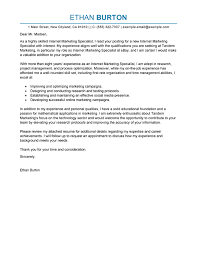 best online marketer and social media cover letter examples    edit