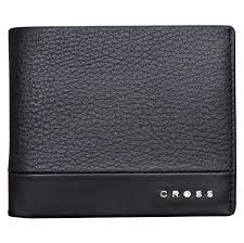 Купить <b>кошелек</b> Cross <b>Nueva FV</b>, черный, 11х8,2х1,5 см, цены в ...