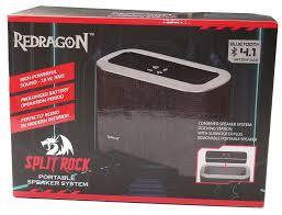<b>Redragon SPLIT</b> ROCK – Bluetooth <b>колонка</b> с базой-сабвуфером