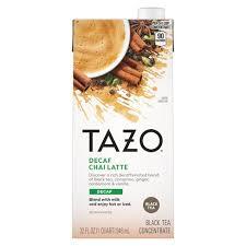 Tazo <b>Chai Decaf Tea</b> Latte - 32 Fl Oz : Target