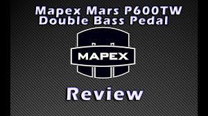 Купить двойные педали Mapex <b>Mars</b> P600TW для бас барабана