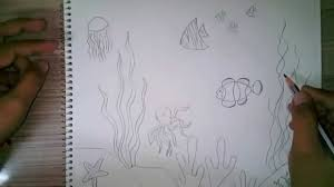 how to draw an underwater scene for kids how to draw an underwater scene for kids