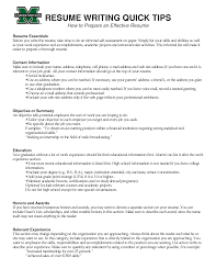 effective resume writing tips template effective resume writing tips
