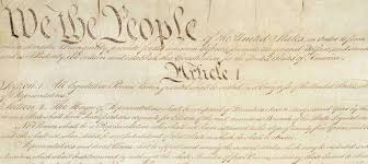Constitution for the United States - We <b>the People</b>