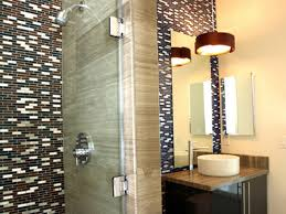spa bathroom showers: walks in tub design ideas for your house barker tiled brown bathroom with