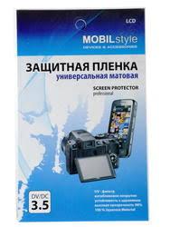 "3.5"" <b>Защитная пленка</b> MobilStyle для смартфона <b>универсальная</b>"