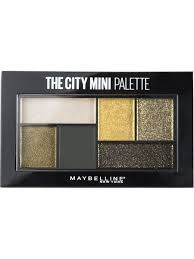 <b>Палетка теней для глаз</b> The City Mini, 6 гр Maybelline New York ...