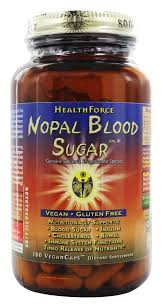 HealthForce Nutritionals - <b>Nopal Blood Sugar</b> - 180 Vegetarian ...