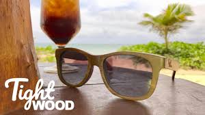 Tight <b>Wood Sunglasses</b> | <b>Skateboard</b> Wood | Float | Handmade by ...