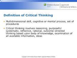 Graphic Representation of Paul Elder Critical Thinking Framework