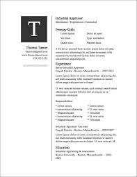 more free resume templates   primerresume