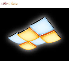 Управляемый <b>светильник Ambrella light</b> FP2326 WH 192W D720 ...