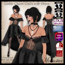 moonstar the gothic charm outfit shoes would probably scare edgar allen poe so badly that he would never write another word it takes gothic and turns it on its
