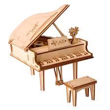 Деревянный 3D <b>конструктор</b> Robotime <b>Фортепиано</b> (TG402 ...