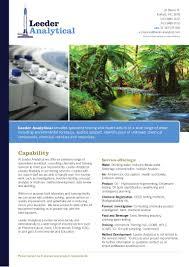 leeder analytical capability