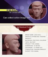 Custom <b>1/6 Scale</b> Accessories <b>Male</b>/<b>Man</b> Head Sculpt For Hot Toys ...