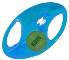<b>Kong Игрушка</b> для собак Джумблер Регби L/XL синтетическая ...