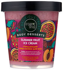 Organic Shop <b>Крем</b>-<b>пилинг для тела Body</b> desserts Summer fruit ...