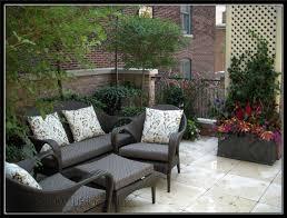 garden furniture patio uamp: small rooftop patio garden design idesa with outdoor furniture