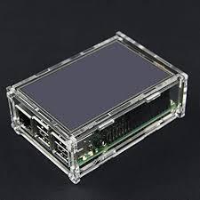 DIY <b>Transparent Acrylic Case For</b> 3.5 Inch TFT Screen: Amazon.co ...