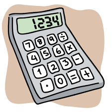 Image result for cartoon calculator