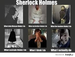 sherlock holmes funny | Tumblr via Relatably.com