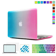<b>Rainbow Color</b> Hard <b>Protective</b> Case For MacBook Air 13 inch,Pro ...