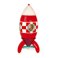 Large <b>Magnetic</b> Rocket (wood)
