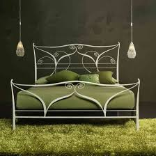 iron beds frames and green fur rug underneath also twin bed also iron canopy bed amusing white bedroom design fur rug