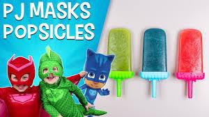 Snack School - <b>Disney Junior</b> Snacks   PJ Masks <b>Fruit</b> Popsicles ...
