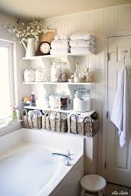 bathroom space savers bathtub storage: the nest on instagram if youre fighting to find space in your bathroom add shelves to store bath time products and beauty essentials