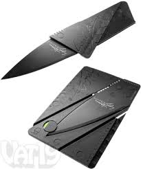 CardSharp2: Ultra thin <b>credit</b>-<b>card</b> sized utility knife.