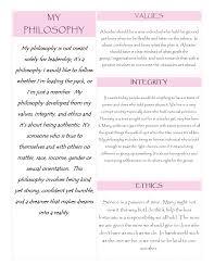 my philosophy values integrity ethics samantha philosophy jpg