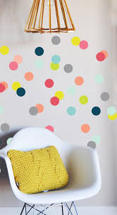 <b>Colorful</b> Confetti <b>Dots Wall</b> Decal | <b>Wall</b> decals, Kids bedroom, <b>Room</b>