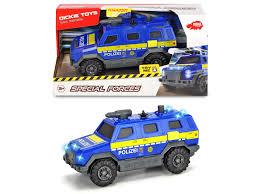 <b>DICKIE</b> Полицейский внедорожник 1:32, свет, звук, брызгает ...