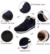 Модные мужские ботинки; теплая зимняя <b>обувь на меху</b>; мужские ...
