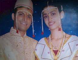 Rashmi Shanbhag with her husband · More - 18wedding10
