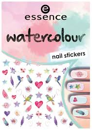 Купить <b>наклейки для ногтей</b> essence <b>Watercolour</b> Nail Stickers ...